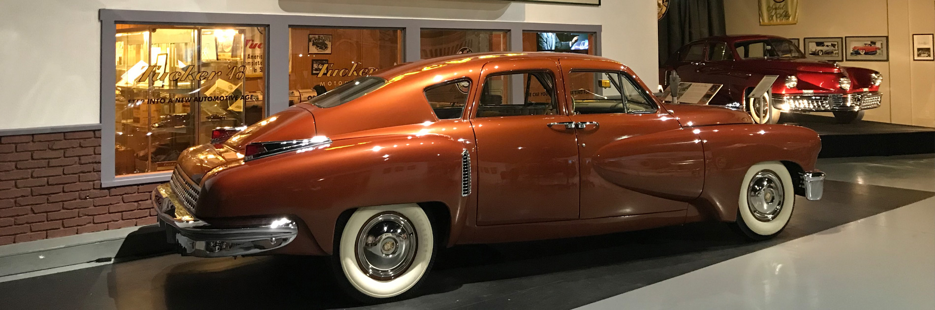 Home to the World's Largest Tucker Collection