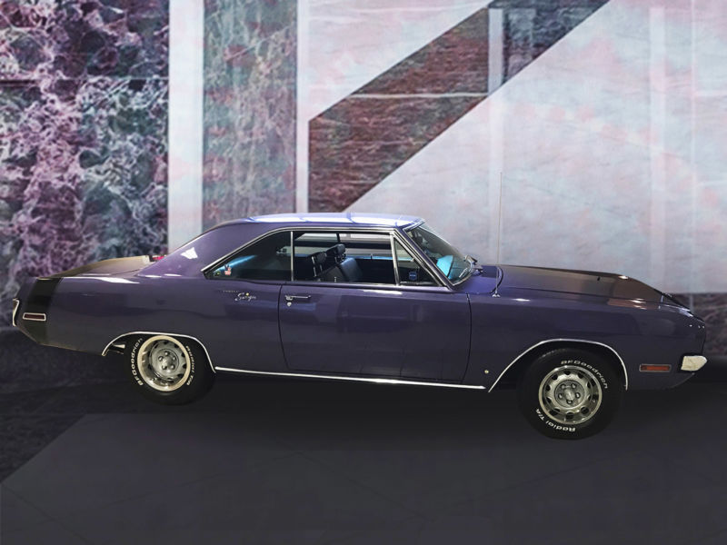 1970 Dodge Dart Plum Crazy Purple