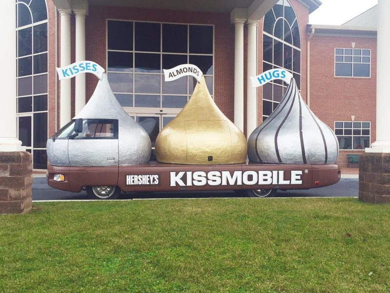 Hershey's Kissmobile Cruiser