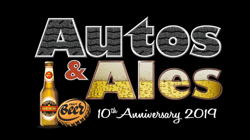 Autos & Ales 10th Anniversary Logo