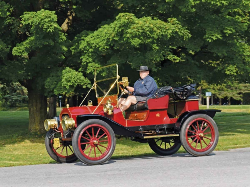 1908 REO Horseless Carriage