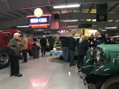 Vintage vehicles on view behind the scenes at the AACA Museum