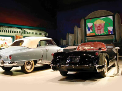 Drive-In Theater Gallery at the AACA Museum