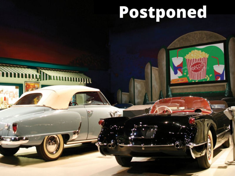 Drive In Theatre Program Postponed