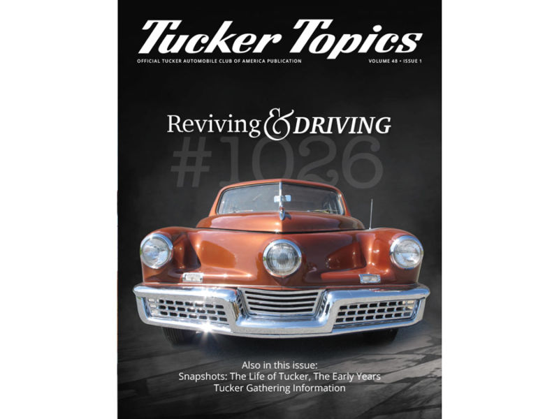 Reviving & Driving Tucker #1026: Part 1