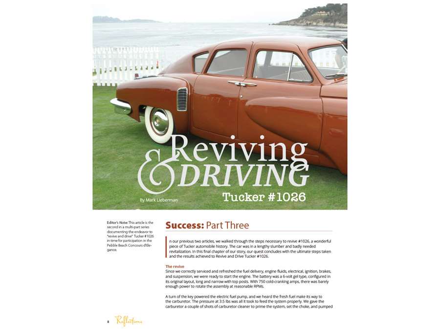 Reviving & Driving Tucker #1026: Part 3
