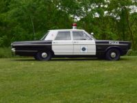 vintage plymouth police car