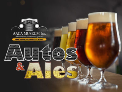 Auto & Ales graphic with beer