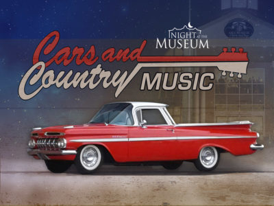 cars and country music graphic